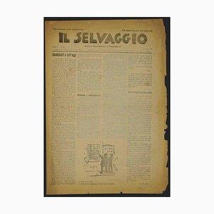 Mino Maccari - the Wild No.8 / 9 by Mino Maccari - 1925