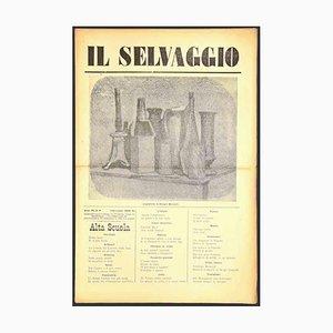 Mino Maccari - the Wild No.9 - 1932