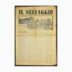 Mino Maccari - the Wild No.24 by Mino Maccari - 1928