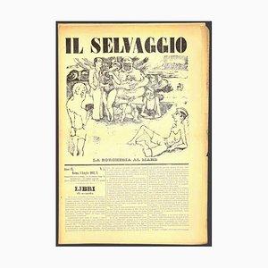 Mino Maccari - the Wild No.5 by Mino Maccari - 1932