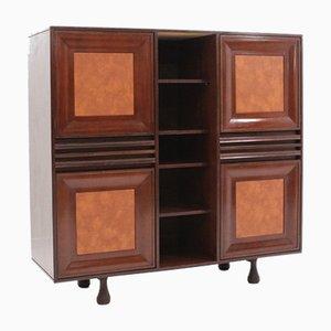 Mid-Century Italian Rosewood Cabinet from Cantieri Carugati, 1950s