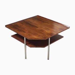 Tavolo ad angolo in palissandro, anni '60