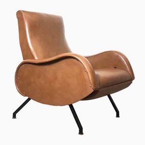 Italian Lounge Chair by Marco Zanuso, 1950s