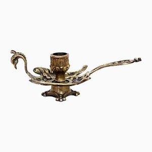 Jugendstil Kerzenhalter in Vogel-Optik, 1930er