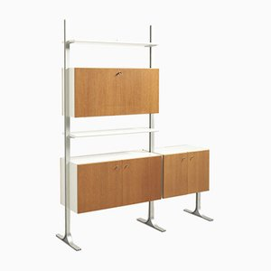 Teak Freestanding Shelving Unit, 1960s