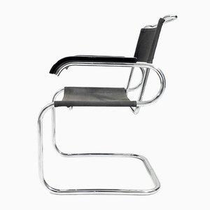 Sedia cantilever modello B55 vintage di Marcel Breuer