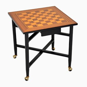 Vintage Game Chess Table, 1960s
