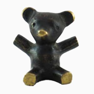 Small Bear Figurine by Walter Bosse for Hertha Baller, Vienna, 1950s