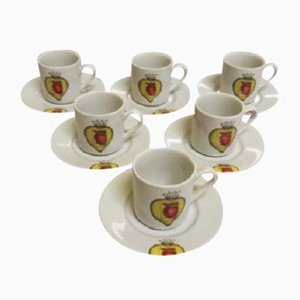 Salvador Dali Porcelain Cups, 2004, Set of 6