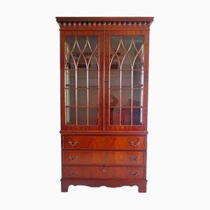 Antiker Englischer Bücherschrank, 1800er