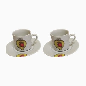 Salvador Dali Porcelain Cups, 2004, Set of 2