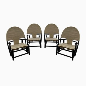 Hoop Lounge Chairs by Werther Toffoloni & Piero Palange, 1960s, Set of 4