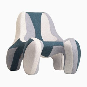 Modell 112 Divina Melange 01 Sessel von Atelier Jungblut