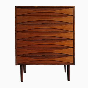 Scandinavian Rosewood Chest of Drawers by Arne Vodder, 1950s