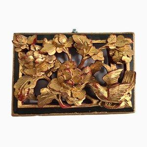 Vogel Skulptur aus 24 Karat Gold
