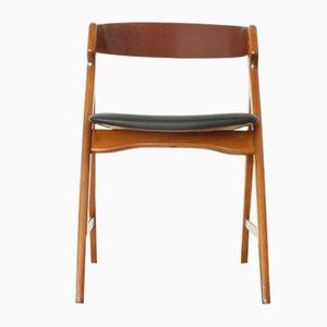 Teak & Buche 71 Stuhl von Henning Kjærnulf für Boltinge Stolefabrik, 1960er
