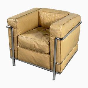 LC2 Sessel von Le Corbusier für Cassina, 1970er