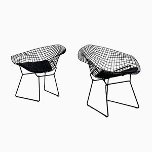 B Diamond Side Chair by Harry Bertoia for Knoll Inc. / Knoll International, 1970s