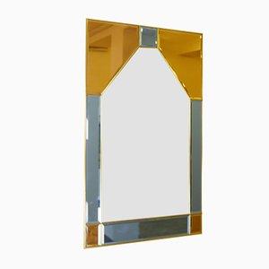 Specchio in stile artistico Cristal, anni '50