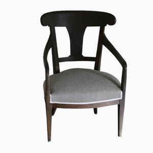 Antique Art Nouveau Vergil Tre Lounge Chair from Altrimenti