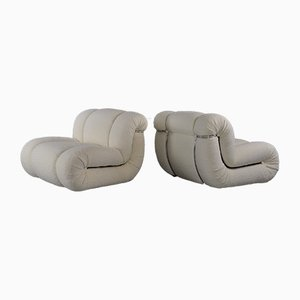 Mid-Century Lounge Chairs by Velasquez for Mimo, 1970s, Set of 2