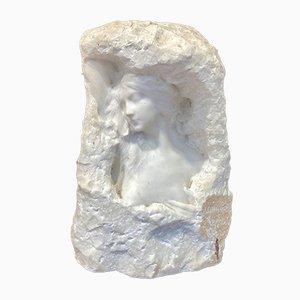 Scultura di Jesús Fructuoso Contreras, The Area, in marmo bianco