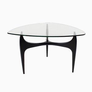 Tavolino da caffè tripode di Jos de Mey per Luxus, 1957