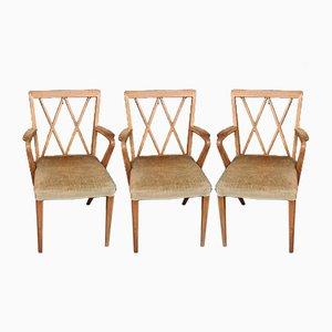 Vintage Armlehnstühle von AA Patijn, 1950er, 5er Set