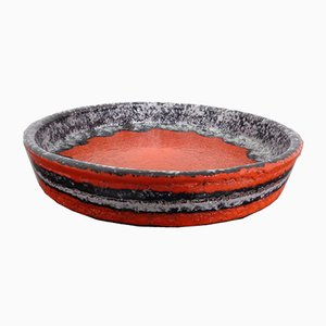 Fat Lava Ceramic Bowl, 1970s