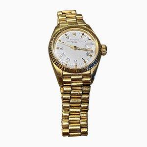 Vintage Gold Watch mit President Bracelet von Rolex