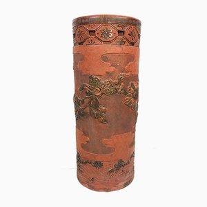 Antiker Schirmständer aus Terrakotta
