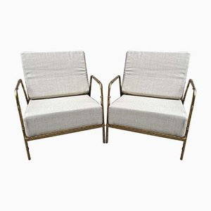 Lounge Chairs in the Style of Jansen, 2000s, Set of 2