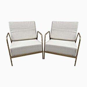 Sessel im Stil von Jansen, 2000er, 2er Set