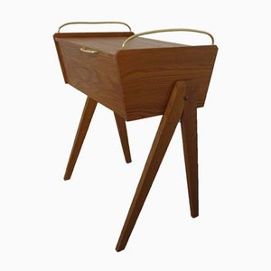 Mid-Century Folding Sewing Table, 1960s