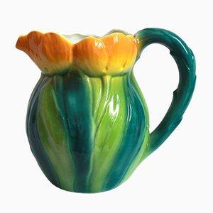 Italian Ceramic Caraffa Jug, 1960s