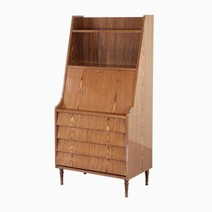 Mid-Century Italian Shelving Unit or Bookcase in Teak, 1960s