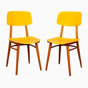 Dining Chairs from TON, 1970s, Set of 2