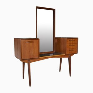 Mid-Century Teak 315 Vanity Table by Svante Skogh for Aktiebolaget Slutarps Möbelindustri