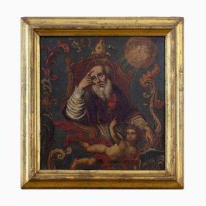 After Gottfried Bernhard Goz, Saint Augustine, 18th-Century, German Oil Painting