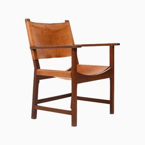 Danish Teak Armchair by Mogens Lassen for Thorald Madsen, 1950s