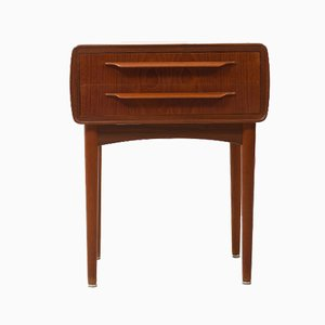 Teak Bedside Chest of Drawers by Johannes Andersen for CFC Silkeborg, 1950s