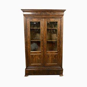 Parisian Louis Philippe Mahogany Bookcase, 1830s