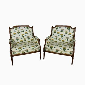 Late 19th Century Marquesas Armchairs, Set of 2