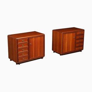 Vintage Cabinets, 1960s, Set of 2