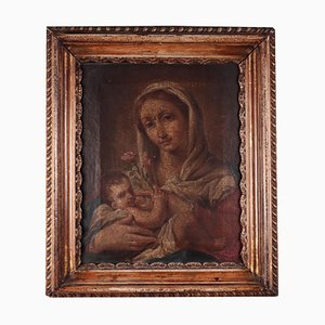 Madonna and Child, Oil on Canvas