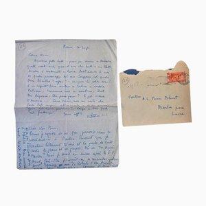 Vittorio Rieti; Lettre d'Autographe Nicolas Nabokov - 1950s