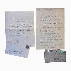 Vittorio Rieti - Autograph Letters - 1940s - Set of 2