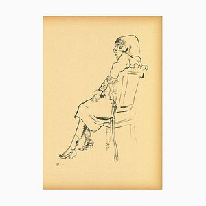 George Grosz - Study - Offset and Lithograph - 1923
