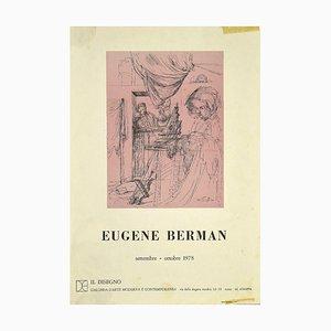 Eugene Berman - Theatrical Costume - Vintage Poster - 1978