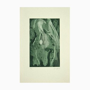 Guelfo Bianchini - Northern Lights - Etching on Paper - 1992